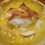 Lemon Pie Puddle