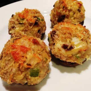 Stuffed Mushrooms…..yum!