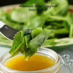 Using a citrus jam brightens the flavor of this dressing.