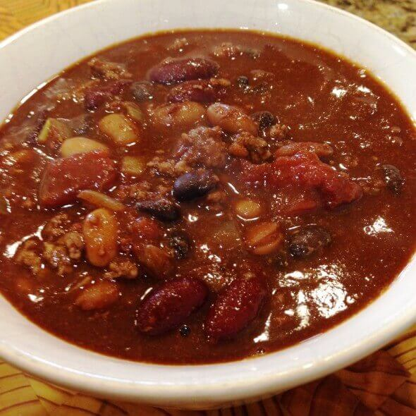 Smokey Chipotle Chili