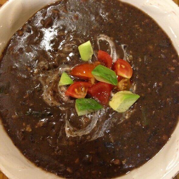 Black Bean Soup 2