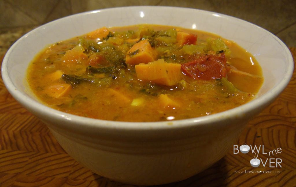 Unexpected spices combine for the most delicious flavored soup.