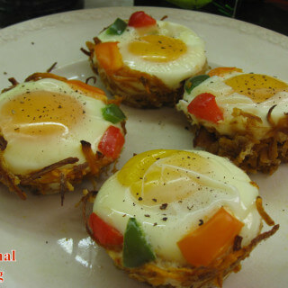 Cave Nests – for Valentine breakfast or brunch!