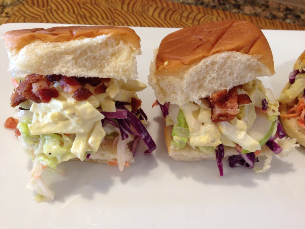 Hawaiian roll sliders