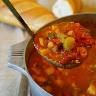 Pepper Stew for Meatless Monday!
