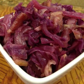 Purple Braised Cabbage