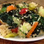 Kale and Quinoa Greek Salad