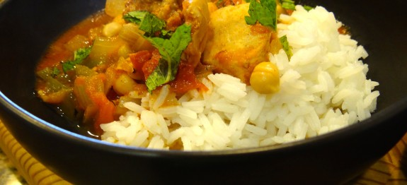 Moroccan Chicken Stew
