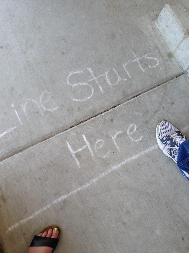 Line starts here!