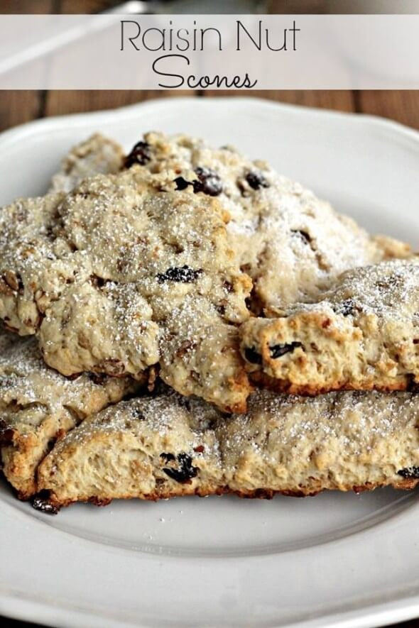 Raisin Nut Scones