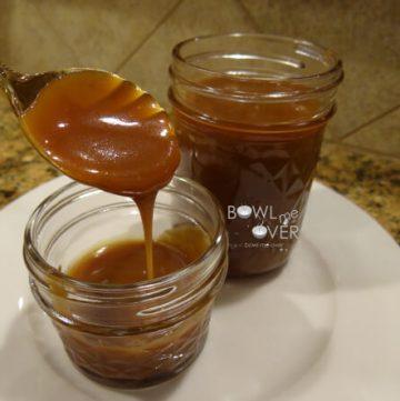 Eggnog Caramel Sauce