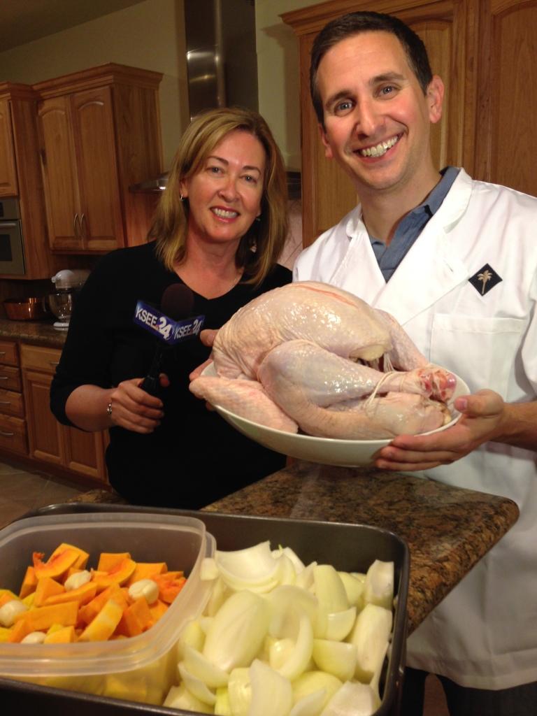 Matt, Deb & Turkey