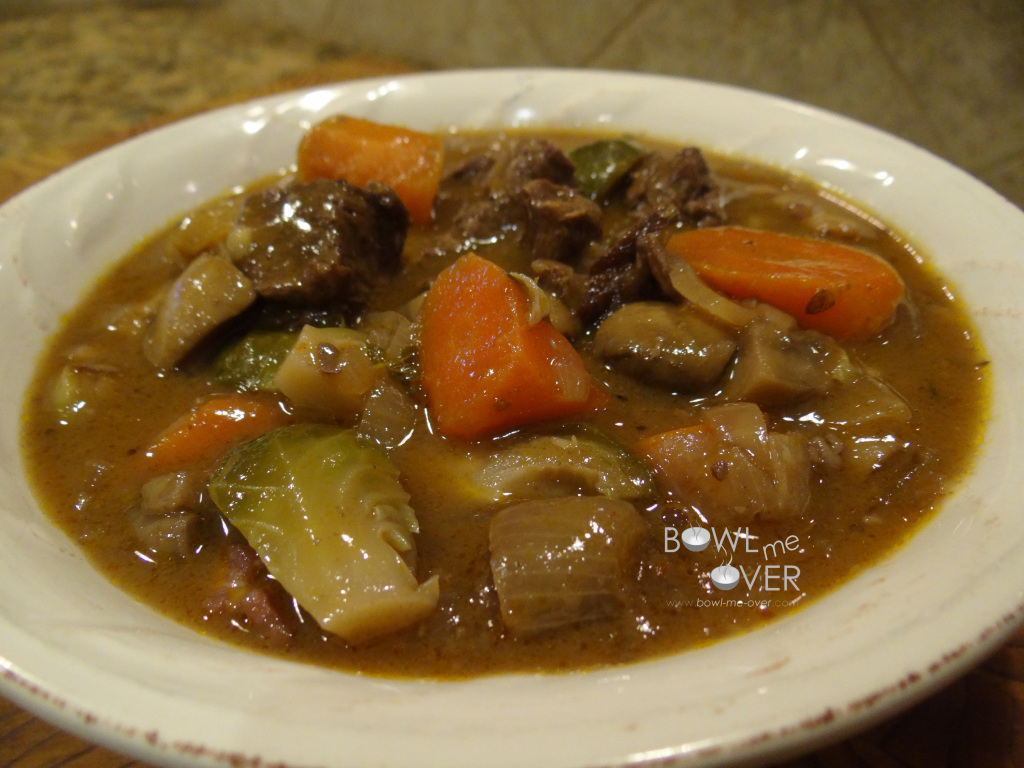 how to thicken beef stew at the end