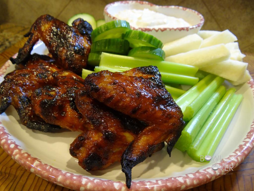 Mmmm.....chicken wings!