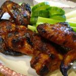 Sticky Buffalo Chicken Wings!