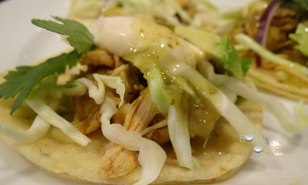 Green Chili Tacos