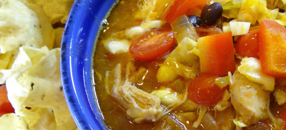 Slow Cooker Chicken Fiesta Stew