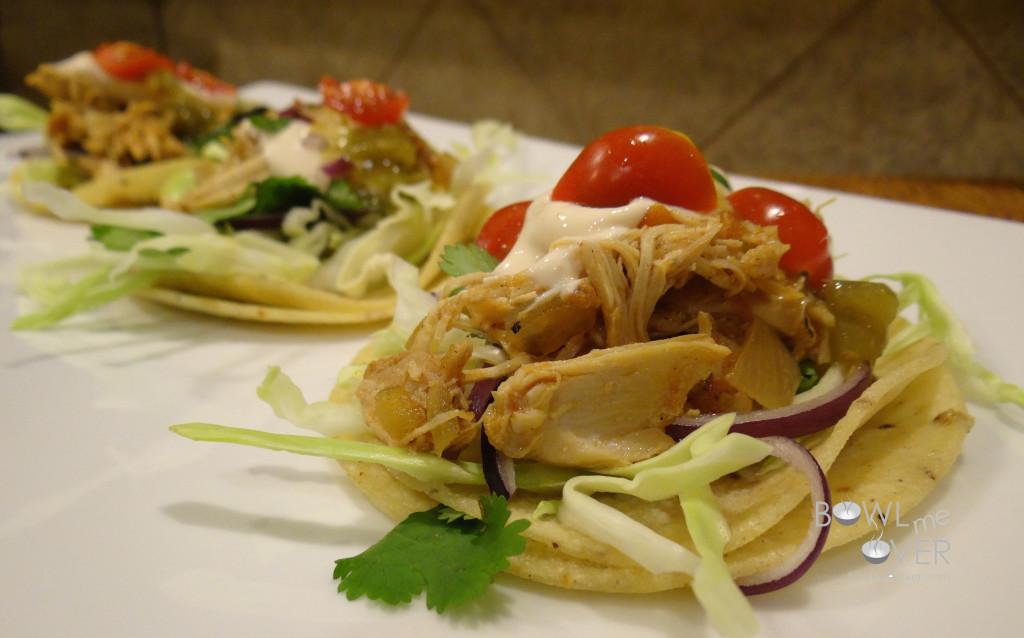 Slow Cooker Chicken Tacos 2