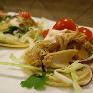 Slow Cooker Meal One – Chicken Tacos
