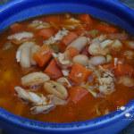 Beer Braised Chicken Stew
