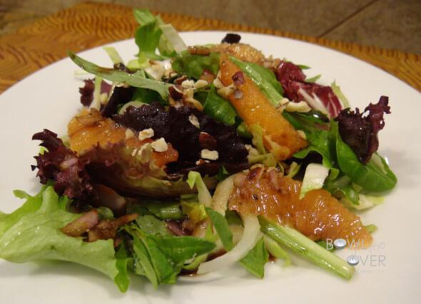 Bitter Greens Orange Salad