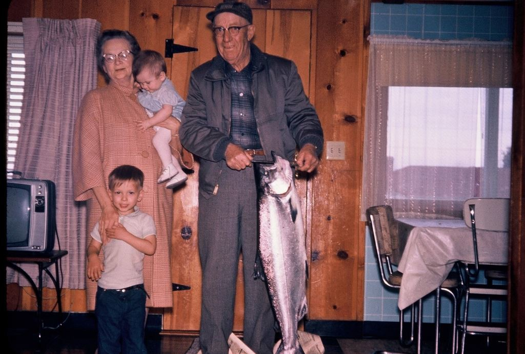 Guy, Ester, Donnie & Debbie 1963