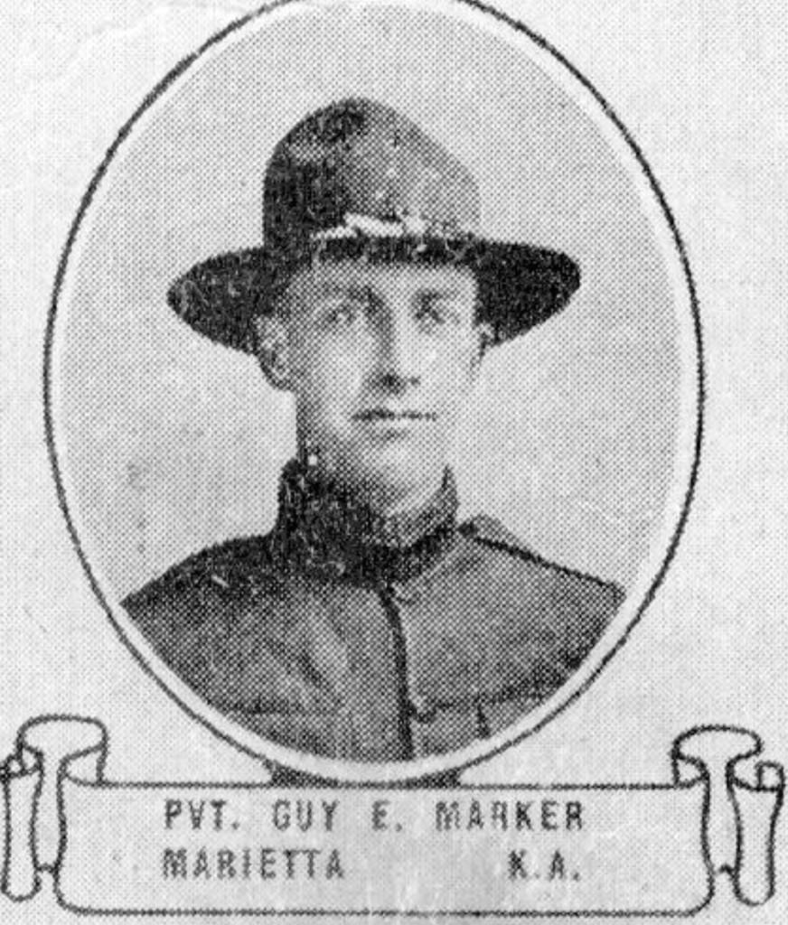 Private Guy E. Marker