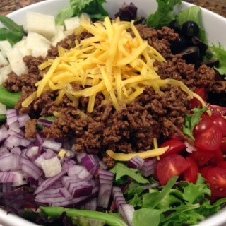 Soup and Salad – Taco Salad that is!