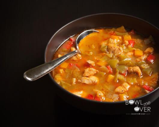 Tri-Pepper Chicken Stew