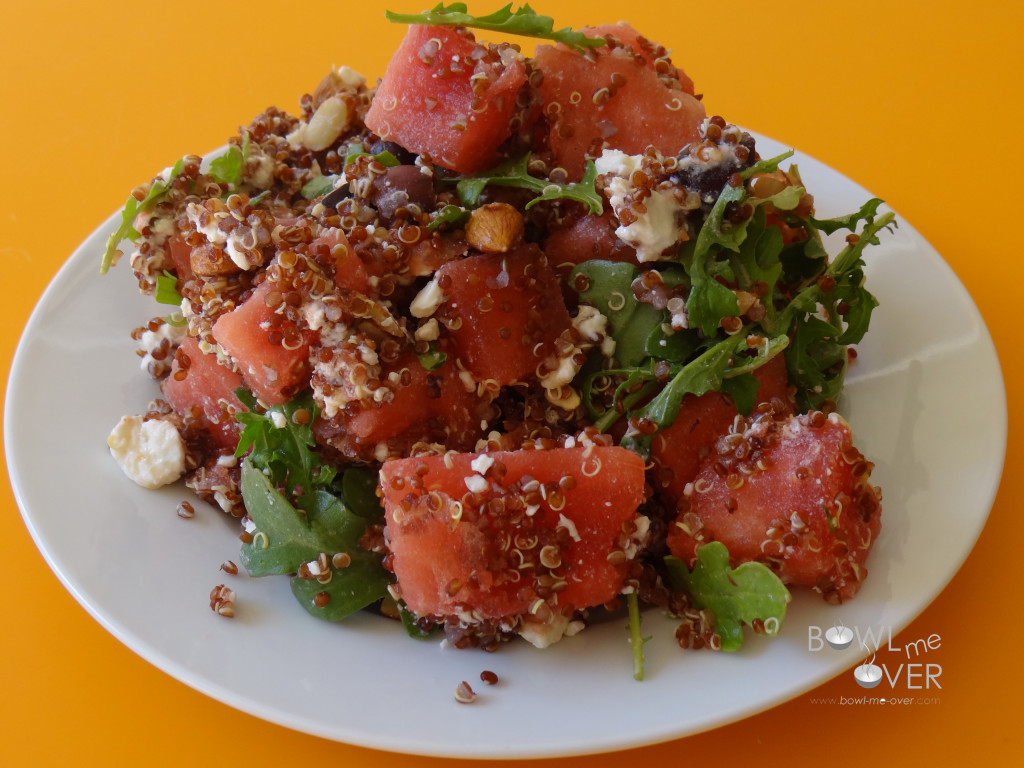 Watermelon Quinoa Salad