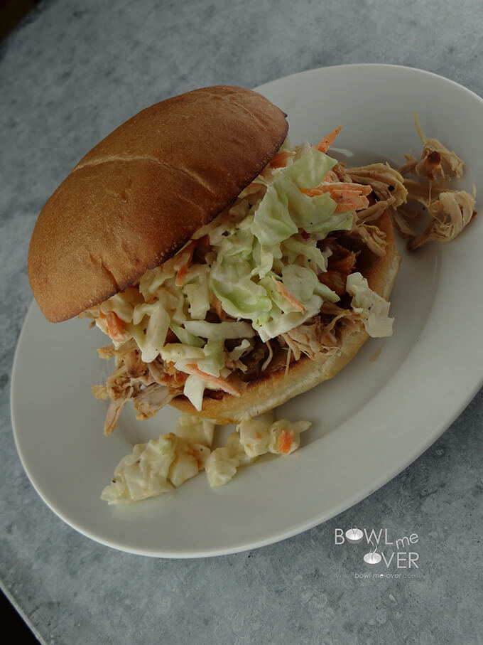 Kauai Pulled Pork Sandwich