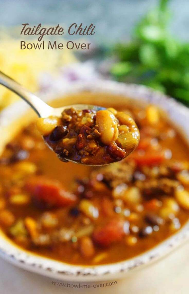 Love a great chili? Then it's time to make some Tailgate Chili! Full of spicy sweet flavor it one of our favorite meals!