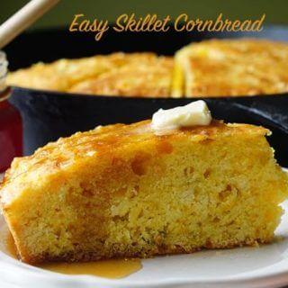 Easy Skillet Cornbread