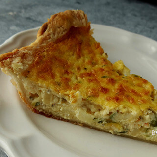Rustic Zucchini Pie for #MeatlessMonday