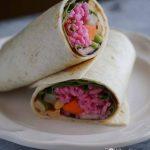 Vegetarian Thai Wraps