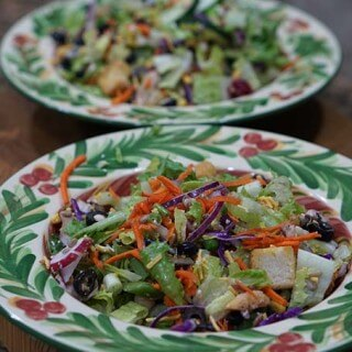 Easy Big Salad for #MeatlessMonday