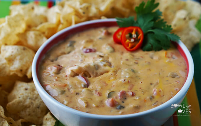 Queso Dip - seriously addictive!