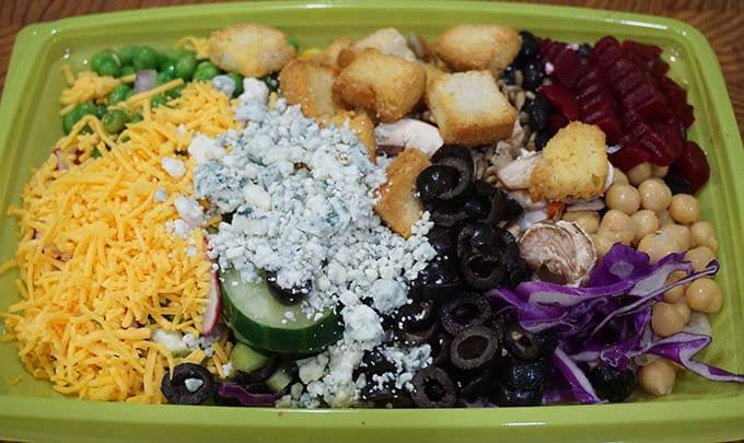 Single Serving Salad