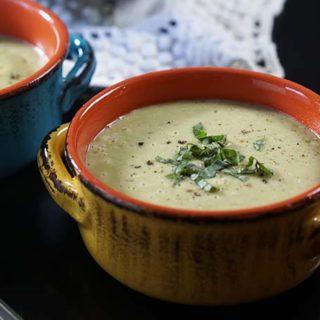 Zucchini Parmesan Soup 30 Minute Meal
