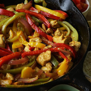 Chicken Fajitas Fiesta Time!
