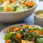 Harvest Salad #HarvestSalad #Persimmons #BowlMeOver