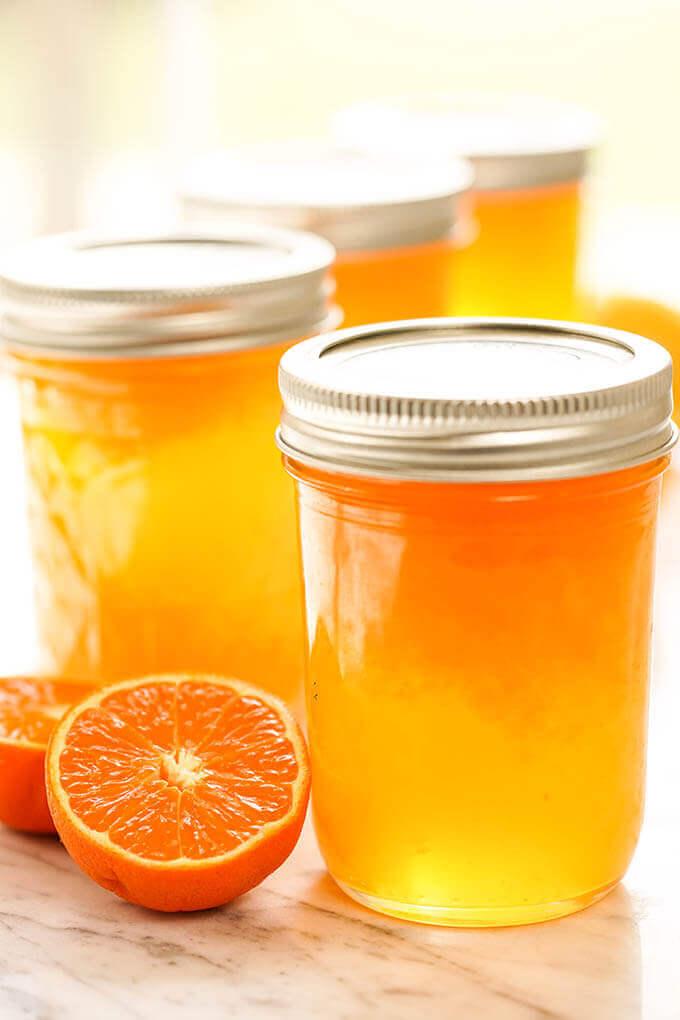 Orange Jelly; Sunshine in a Jar! - Bowl