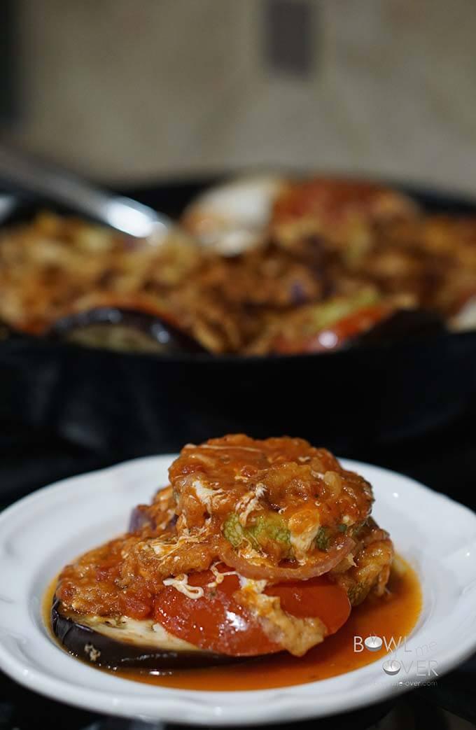 Cheesy Vegetable Casserole