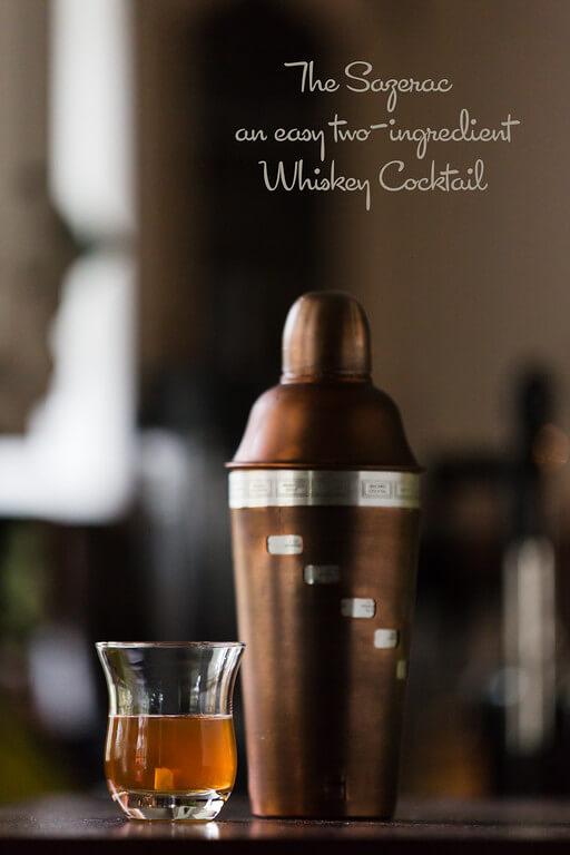 The Sazerac Whiskey Cocktail