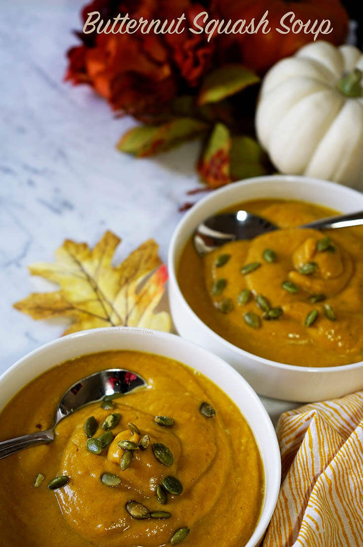 This soup is a celebration of beautiful fall flavors!