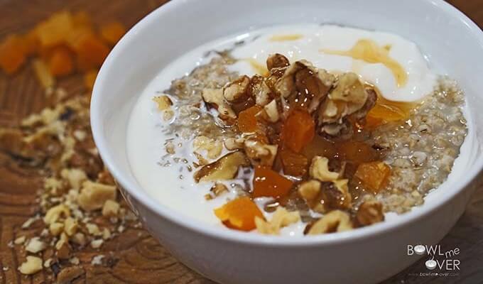 Steel Cut Oatmeal Breakfast Bowl