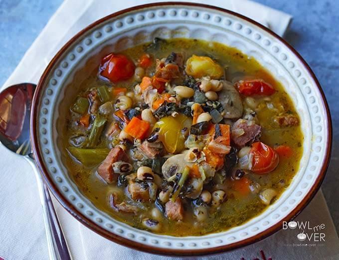 Black-eyed Pea stew2