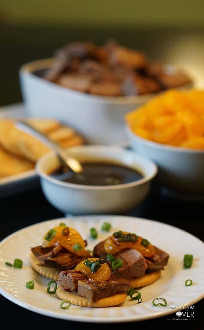 Slow Cooker Roast Beef Bites