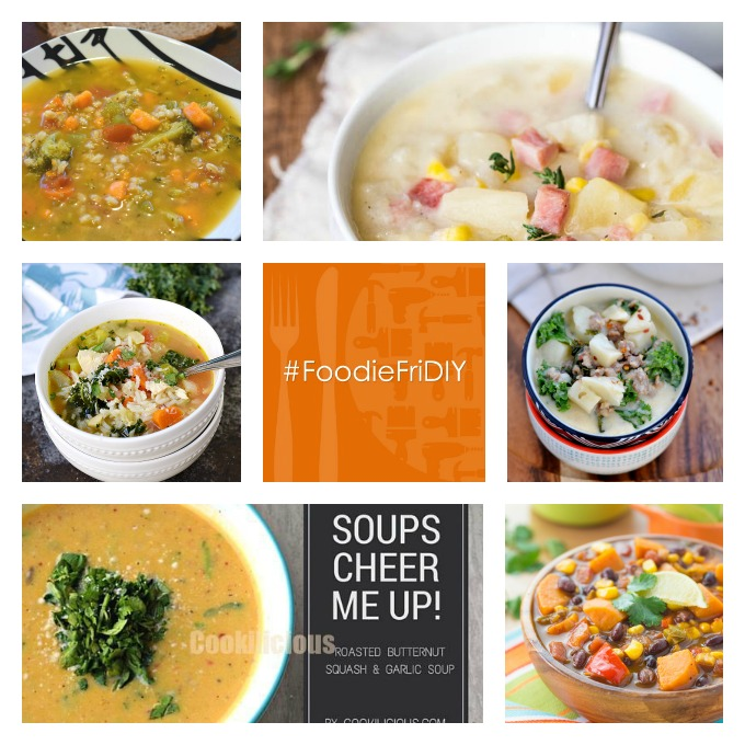 Foodie FriDIY - Soup is good food!