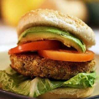 Nut Burgers #Vegan #MeatlessMonday